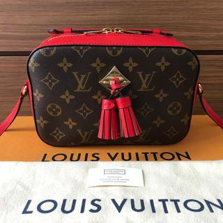 LOUIS VUITTON - 美品 ルイヴィトン モノグラム サントンジュ コクリコ 赤 レッド
