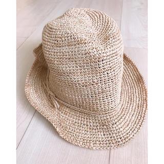 MUJI (無印良品) - ストローハット 麦わら帽子 レディース