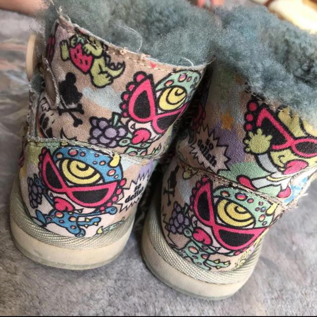 HYSTERIC MINI(ヒステリックミニ)のヒスミニ ボア ムートンブーツ キッズ/ベビー/マタニティのキッズ靴/シューズ(15cm~)(ブーツ)の商品写真
