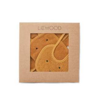ベビービョルン(BABYBJORN)の新品 liewood リーウッド ウォッチクロス ビブセット(ベビースタイ/よだれかけ)