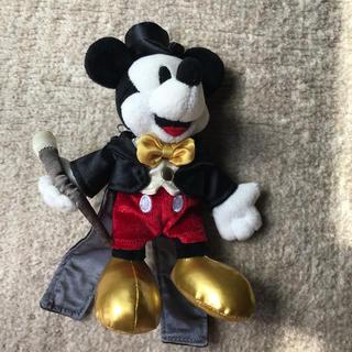 ディズニー(Disney)のぬいぐるみバッジ(キャラクターグッズ)