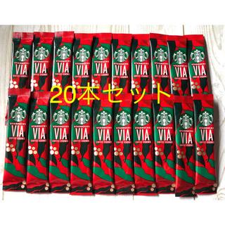 Starbucks Coffee - スターバックスコーヒー クリスマスブレンド 20本セット