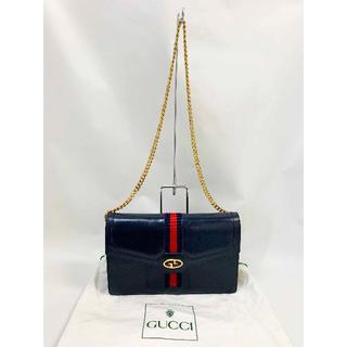 Gucci - グッチ オールドグッチ チェーンショルダーバッグ(0328-03)
