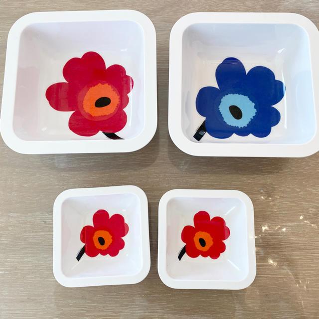 marimekko(マリメッコ)のマリメッコ メラミン皿 インテリア/住まい/日用品のキッチン/食器(食器)の商品写真