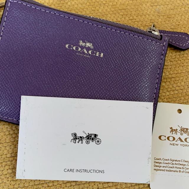 COACH(コーチ)のCOACHのカードケース レディースのファッション小物(名刺入れ/定期入れ)の商品写真