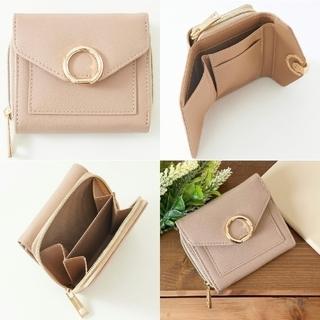 しまむら - 新品 プチプラのあや 2層ショルダーバッグ MUMU リングモチーフミニ財布
