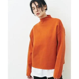 ENFOLD - CLANE クラネ UP NECK KNIT TOPS