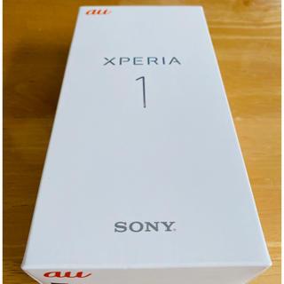 SONY - 【新品未使用】Xperia 1  SIMフリー ホワイト