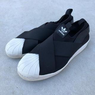 アディダス(adidas)のadidas スリッポン 25.5cm(スリッポン/モカシン)