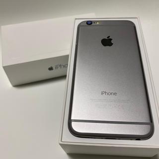 iPhone - iPhone6 simフリー バッテリー残量100%