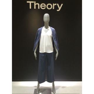 theory - セオリー 17SS リネン ノーカラー セットアップ サイズ00/XXO