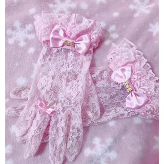 アンジェリックプリティー(Angelic Pretty)のAngelic Pretty♡レース手袋(手袋)