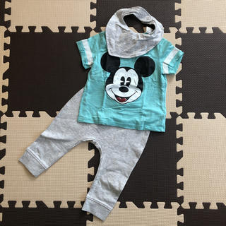 エイチアンドエム(H&M)のエイチアンドエム H&M ミッキーTシャツ・パンツ・スタイセット(Tシャツ)