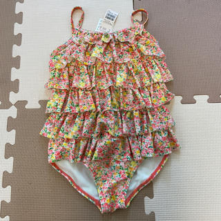 petit main - 新品タグ付き☆プティマイン ☆ワンピース 水着☆女の子 130