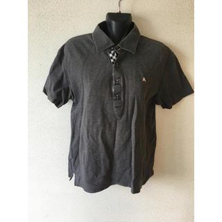 バーバリーブラックレーベル(BURBERRY BLACK LABEL)のシンプルデザインが素敵♪バーバリーブラックレーベルポロシャツ(ポロシャツ)