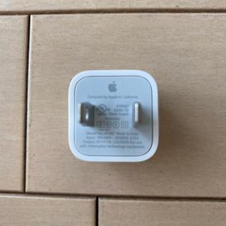 アイフォーン(iPhone)のiPhone純正品 コンセント (変圧器/アダプター)
