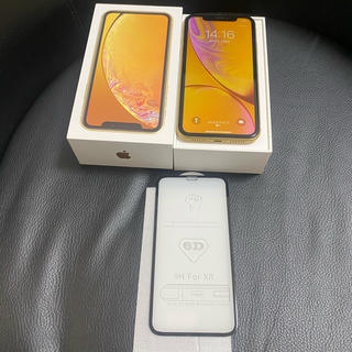 iPhone - iPhoneXR赤ロム中古美品イエロー