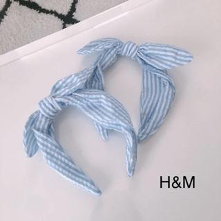 H&M - H&M エイチアンドエム ♡ リボンカチューシャ kids