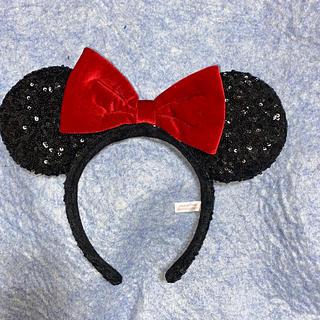 Disney - ミニーちゃんカチューシャ 黒