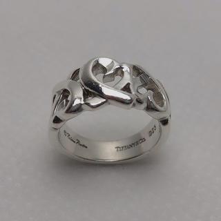 ティファニー(Tiffany & Co.)のN010 美品★ ティファニー シルバー SV925 指輪 リング 9号 5g(リング(指輪))