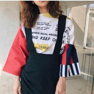 アメリヴィンテージ(Ameri VINTAGE)のAmeri VINTAGE  JUMBLE TEE トップス(Tシャツ(長袖/七分))