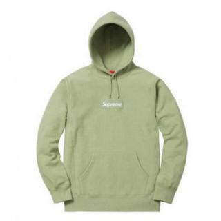 Supreme - XL Sage Supreme Box Logo Sweatshirt