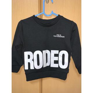 ロデオクラウンズ(RODEO CROWNS)のロデオクラウンズ 子ども用 XS 90センチ~95センチ トレーナー(ジャケット/上着)