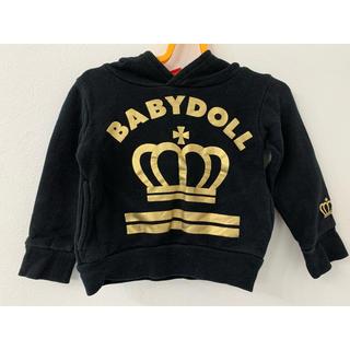 BABYDOLL - ベビードール パーカー トレーナー 80