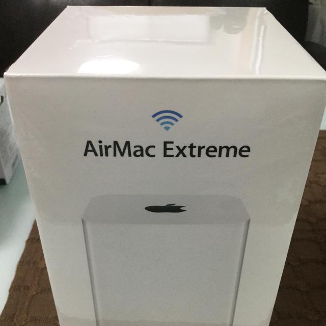 Apple(アップル)のApple ME918J/A AirMacExtreme (新品・未開封品) スマホ/家電/カメラのPC/タブレット(PC周辺機器)の商品写真