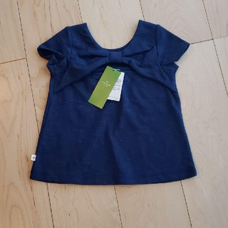kate spade new york - 【新品】kate spade×Tシャツ トップス 半袖 ネイビー 花 110cm