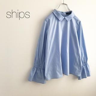 SHIPS - ★シップス★キャンディスリーブシャツ ブラウス