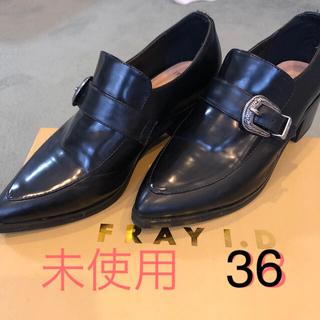 フレイアイディー(FRAY I.D)のリリ様専用FRAY I.D モンクストラップローファー 36(ローファー/革靴)