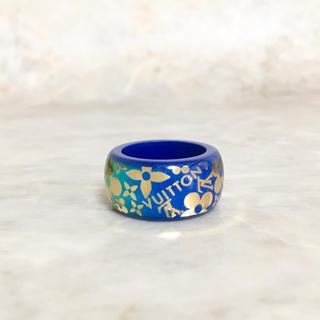 ルイヴィトン(LOUIS VUITTON)の正規品 ヴィトン 指輪 トロピカル モノグラム フラワー  カクテル 金 リング(リング(指輪))