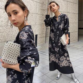 Ameri VINTAGE -  アメリヴィンテージ ZOZO限定☆REHEMA KEY NECK DRESS