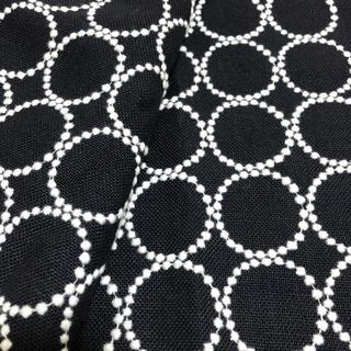 mina perhonen - ミナペルホネン タンバリン ネイビー 生地巾半分×50cm