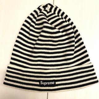 Supreme - supreme ボーダービーニー ニット帽