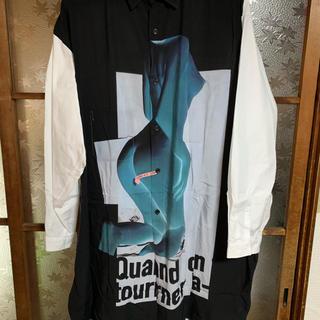 Yohji Yamamoto - ヨウジヤマモトプールオム BLACK SCANDAL フロントヌードシャツ