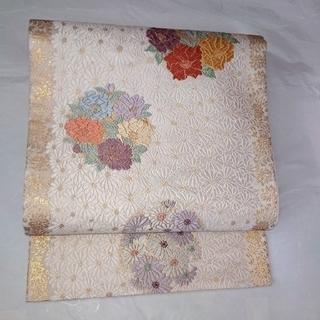 正絹 唐織 袋帯 新品未使用