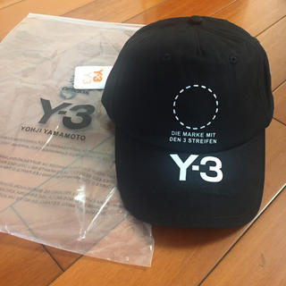 Y-3 - Y-3 ロゴキャップ帽子