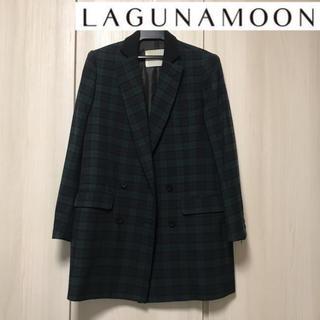 ラグナムーン(LagunaMoon)のラグナムーン⭐︎LAGUNAMOON美品チェック柄ジャケット(テーラードジャケット)