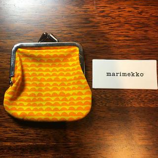 マリメッコ(marimekko)の(新品未使用)マリメッコ ミニがまぐち(コインケース)