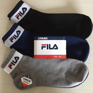 FILA - FILAソックス靴下25〜27