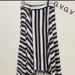 ジーヴィジーヴィ(G.V.G.V.)のG.V.G.V フィッシュテール スカート  M  GVGV スカート(ロングスカート)