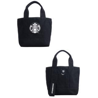 スターバックスコーヒー(Starbucks Coffee)のスターバックス:トートバッグ  ロゴ 台湾 スタバ 黒熊(トートバッグ)