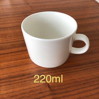 イッタラ(iittala)のイッタラ  ティーマ ホワイト 220ml カップ(グラス/カップ)