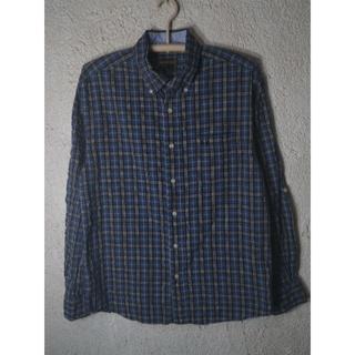 マックレガー(McGREGOR)の5971 McGREGOR 長袖 チェック シアサッカー風 ボタンダウン シャツ(シャツ)