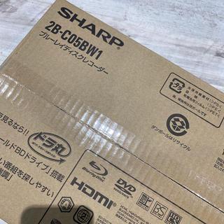 SHARP - シャープ★未使用品 ブルーレイディスクレコーダー