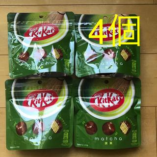 Nestle - ★新品未開封★ キットカット 抹茶パウチ 4個おまとめセット