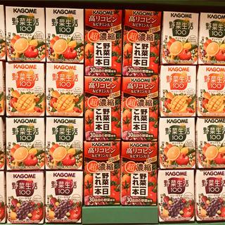 カゴメ(KAGOME)の【カゴメ 野菜生活 30本】野菜・果実ミックス、高リコピントマト野菜  (その他)