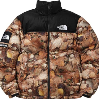 Supreme - supreme north face 枯葉 ヌプシ Sサイズ